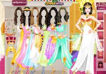 Vestir a Barbie Egipcia