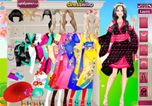 Vestir a Barbie Japonesa