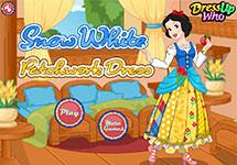 Vestidos estampados de Blancanieves