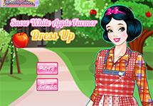Vestir a Blancanieves en una granja