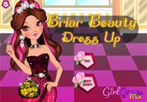 Vestir a Briar Beauty en el restaurante
