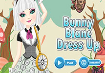 Vestir a Bunny Blanc