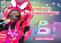 Vestir y maquillar a Catty Noir