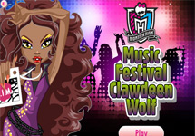 Vestir a Clawdeen Festival Musical