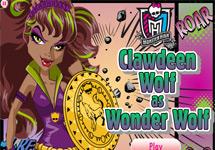 Vestir a Clawdeen (Wonder Wolf)