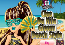 Vestir a Cleo de Nile Gloom Beach