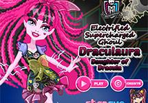 Vestir a Draculaura Electrified