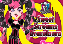 Vestir a Draculaura (Sweet Screams)