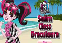 Vestir a Draculaura Swim