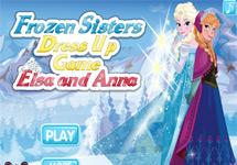 Vestir a Elsa y Anna (Disney Frozen)