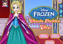 Vestir a Elsa en su palacio