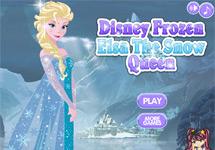 Vestir a Elsa (Reina de las Nieves)