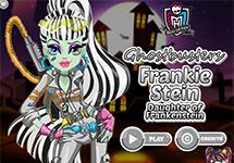 Vestir a Frankie de Cazafantasmas