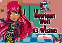 Vestir a Howleen Wolf 13 Deseos