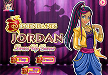 Vestir a Jordan Los Descendientes