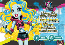 Juego de Monster High Lagoona Blue