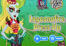 Vestir a Lagoonafire hechizante