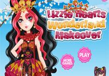 Vestir y maquillar a Lizzie Hearts