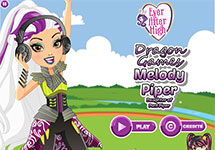 Juego de Ever After High Melody Piper