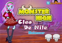 Vestir y maquillar a las Monster High