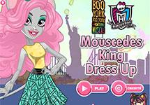 Vestir a Moucedes King