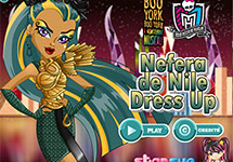 Vestir a Nefera de Nile Boo York