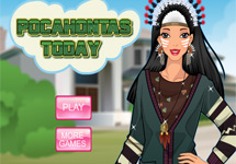 Vestir a Pocahontas Actual