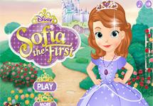 Vestir a la Princesa Sofia