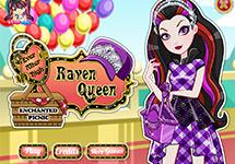 Vestir a Raven Enchanted Picnic
