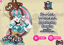 Juego de Monster High Rochelle Goyle